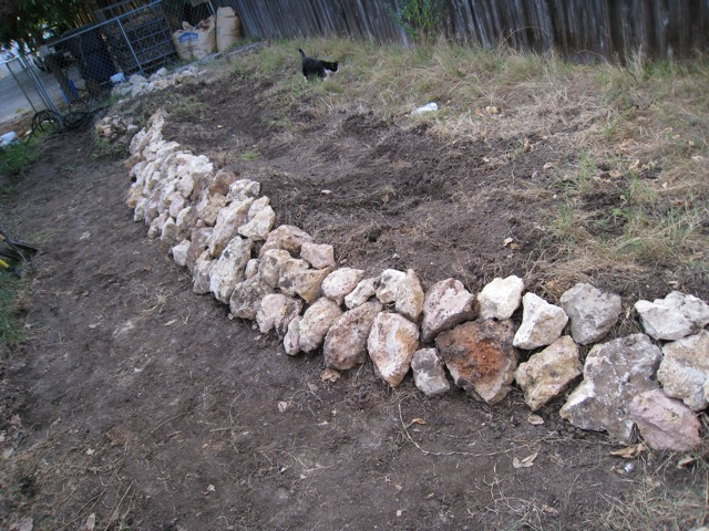 First Rock Wall