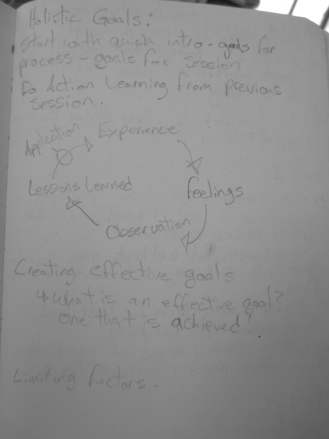 Learning Journal - Action learning process