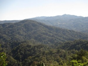 Beautiful Mountains of Northern Thailand